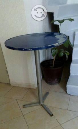 Mesas en remate 3 piezas para taqueria