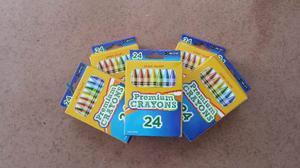 Paquete De 50 Cajas De 24 Crayones Cada Uno