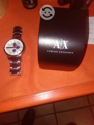 Reloj de pulso en acero Armani