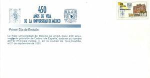 Sobre Primer Día 450 Aniversario De La Universidad De