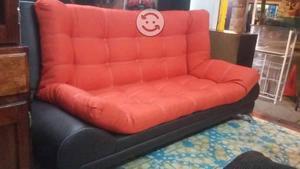 Sofa cama usado barato df naranja | Posot Class - photo#38