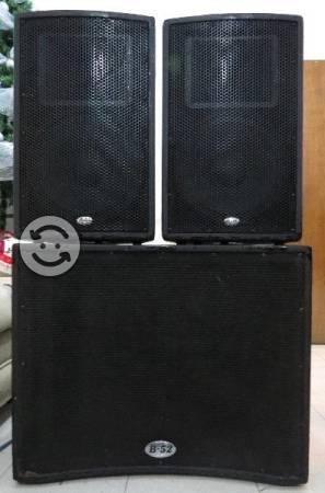 Equipo de sonido MATRIX  B52