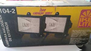 Juego De 2 Lamparas De Halogeno Para Exterior De 150 Watts