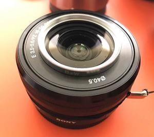 Lente Sony mm F/ Oss Alpha (montura E)