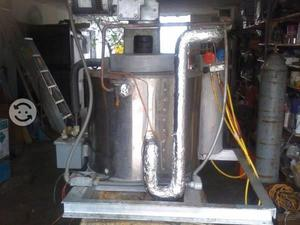 Maquina de hielo en escama marca howe