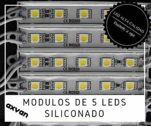 Módulos De 6 Leds  Siliconado Ip 65