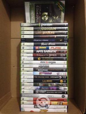 26 juegos de Xbox 360 v/c por separado