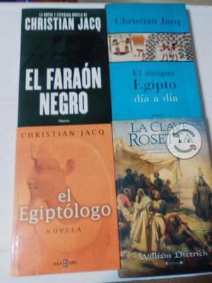 Libros sobre Egipto, colección muy completa