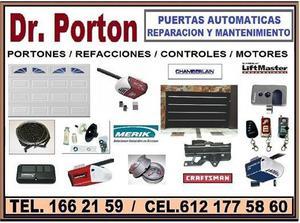 PUERTAS AUTOMATICAS Dr. Porton