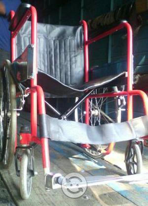 Silla de ruedas con cojin, cómodo, andadera