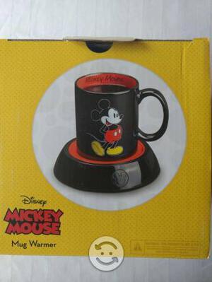 Taza de Mickey Mouse con calentador