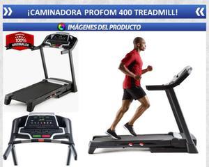 caminadora proform 400 treadmill
