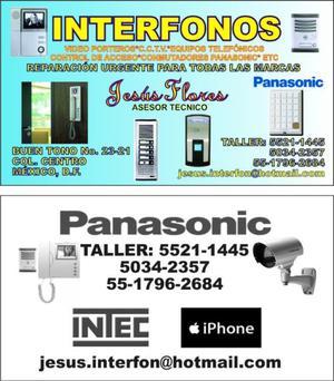 central de interfonos y videoporteros