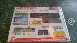 Decodificador digital de TV Master