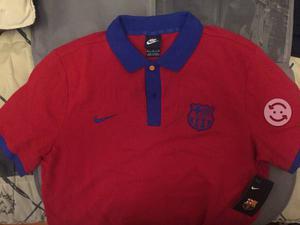 Playera polo, talla M, FC Barcelona Oficial