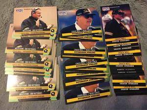Tarjetas Chuck Noll De Pittsburgh Steelers