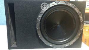 Equipo de sonido Boofer y Fuente clase D
