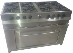 Estufa 3 quemadores tipo industrial 900 posot class for Estufa industrial con horno