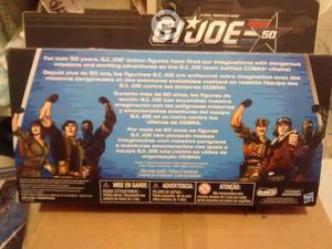 GI Joe three pack del 50 aniversario Hit & Run