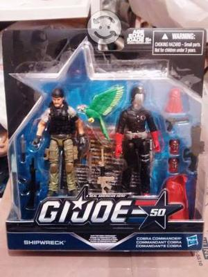 GI Joe two pack del 50 aniversario Shipwreck