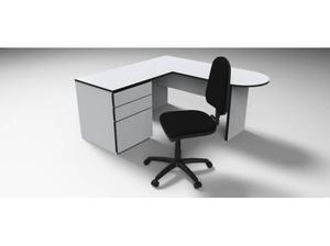 Modulo secretarial muebles de oficina posot class for Muebles de oficina con llave