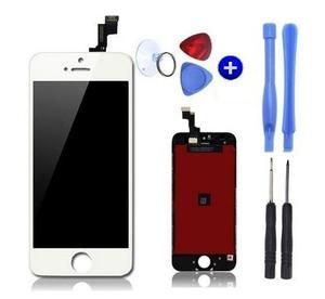Pantalla Display Iphone 5 5c 5s Touch Blanco Y Negro Regalo