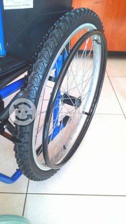 Silla de ruedas neumatica