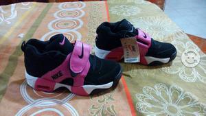 Tenis nike air originales nuevos negro/rosa