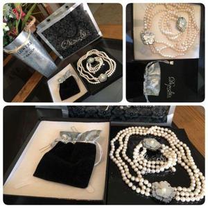 Vendo collar de perla cultivada $1900 ofrezca