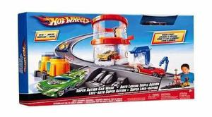Autolavado Triple Accion Hot Wheels Marca Mattel