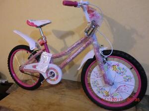 Bicicleta nueva para niña rodada20