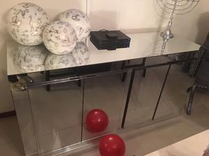 Credenza Moderna Con Espejo : Vendo espejo y bufetera chapa de raiz posot class