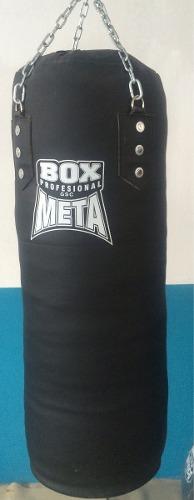 Costal Para Boxeo Vinipiel Con Cadena Uso Rudo