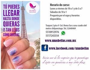Curso de gelish amp nail art incluye material posot class for Tecnicas vanguardistas