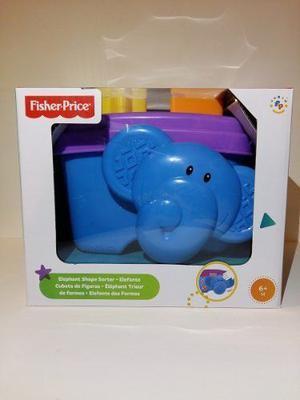 Elefante Cubeta De Figuras Fisher Price Marca Mattel