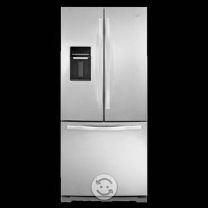 Refrigerador 20 P Whirlpool Mwrf560seym Acero Inox