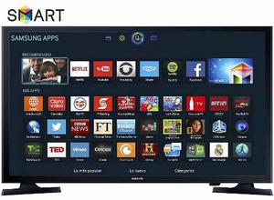 Televisión Samsung Un-32j Smart Tv Led Hd 32''-negro