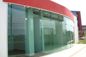Nueva 3 x 3 mts fachada purificadora de agua posot class - Fachada de cristal ...