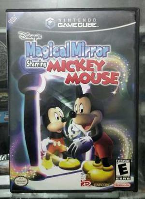 Magical Mirror Mickey Mouse Nintendo Game Cube Wii