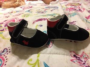 3 pares Zapatos para bebe 0 a 6 meses