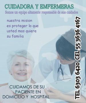 CUIDADORAS DE PACIENTES GERIATRICOS