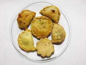 Empanadas, Turcos, Hojarascas, Buñuelos