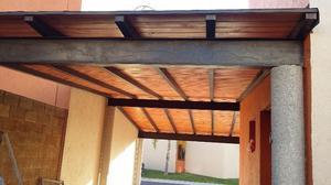 Madera duela para techos posot class for Tejados de herreria