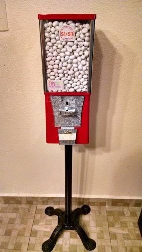 Maquina Expendedora De Dulce A Granel De $2 Con Base America