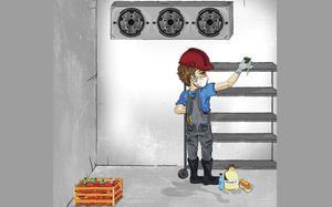 Reparación cámaras y equipos de refrigeración