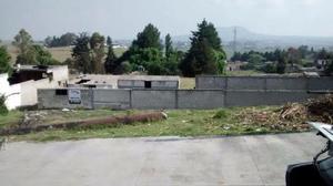 Terreno en Venta en Almoloya de Juarez. /