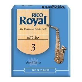 5 Pares De Cañas Sax Alto 3 Rico Royal Sar3(10)