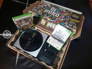 Dj hero - tornamesa xbox 360