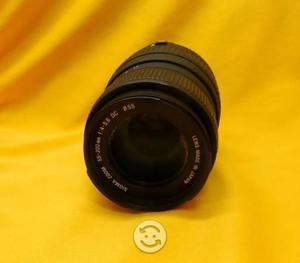 Lente Zoom Sigma 55-200mm (110-400mm) AF F4-5.6