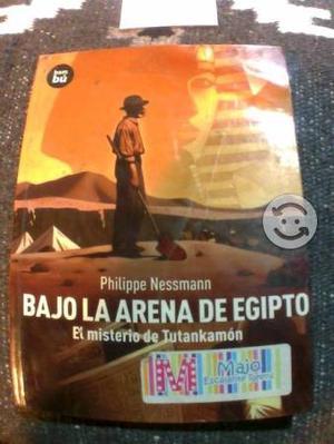 Libro bajo la arena de egipto